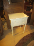 Early 2 Drawer Stand with Later Paint