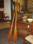 Pair of Labeled Old Town Paddles