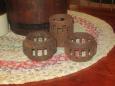 Iron Wagon Wheel Hub Pieces