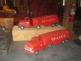 2 Pressed Steel Buddy L Texaco Tankers