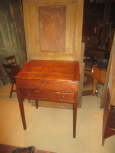 19th Century PA Pine Slant Front Desk