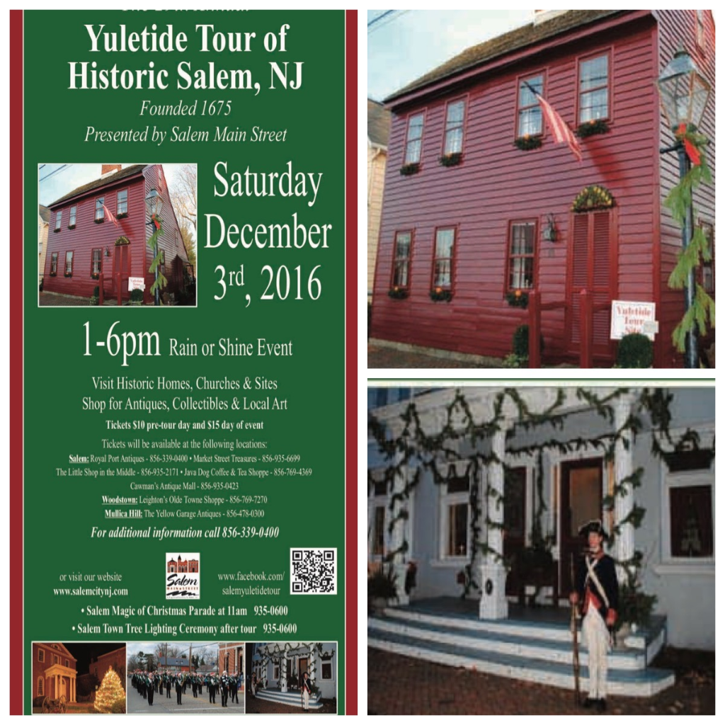 Next On Our Calendar Is The Annual Yuletide Tour Of Historic Salem This  Year's Tour Includes