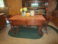 19th Century 2 Drawer Work Table