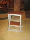 Repurposed Industrial Stand
