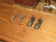 4 Iron Hooks