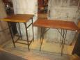 Repurposed Industrial Tables