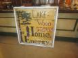 Lakewood Wood Stoves Sign