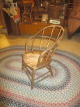 Early Oak Windsor Captain's Chair