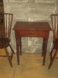 19th Century Beautiful Cherry One Drawer Stand