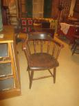 Captain's Style Windsor Chair