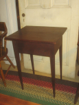 Early Tapered Leg Side Table