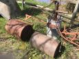 2 Durham Water Weight Rollers, Ohio