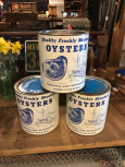 Peterson Packing Co., Port Norris, NJ Oyster Tins
