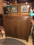 19th Century 2 Door Cupboard Top