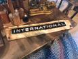 International Tractor Tag