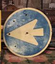 Tin Arrow Sign
