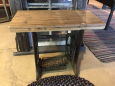 1930-31 Singer Sewing Machine Base with Butcher Block Top