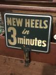 Cobbler's Tin Sign