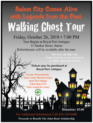 Ghost Tour 2018