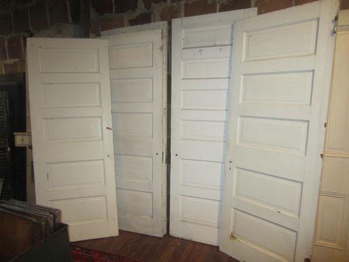 Early 20th Century 5 Panel Doors