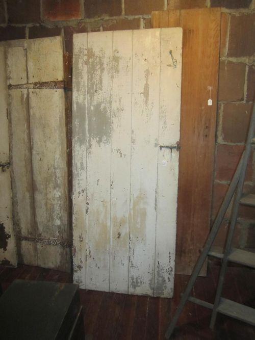 Painted Batten Door