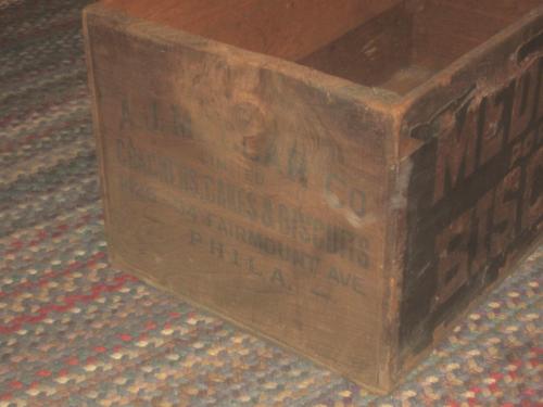 Side shot of Medlar Crate