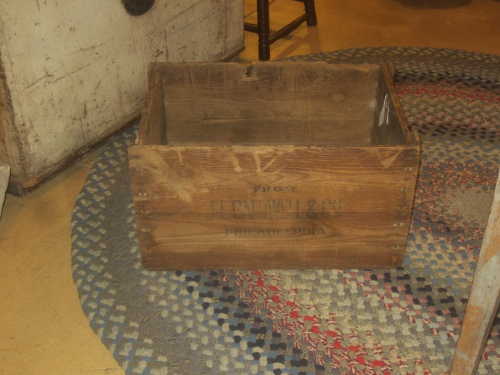 J.E. Caldwell & Co. Phila Jeweler/China Crate
