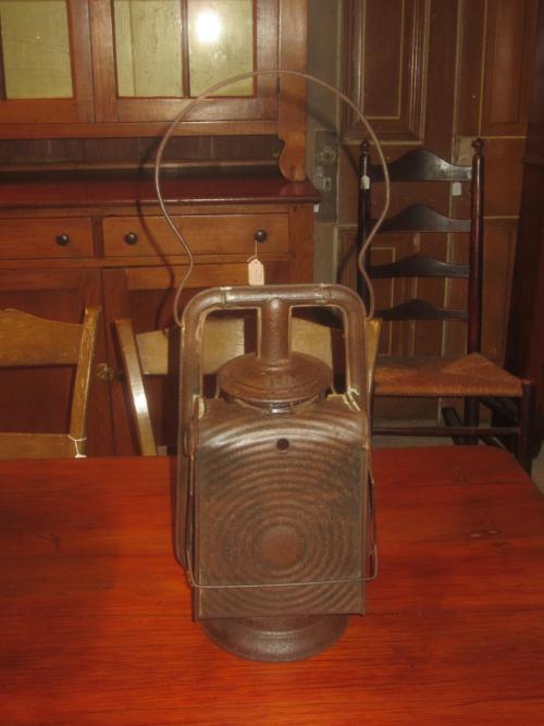 Back shot of lantern