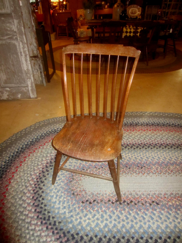 1800-1810 Shaped Tablet Top Windsor Chair