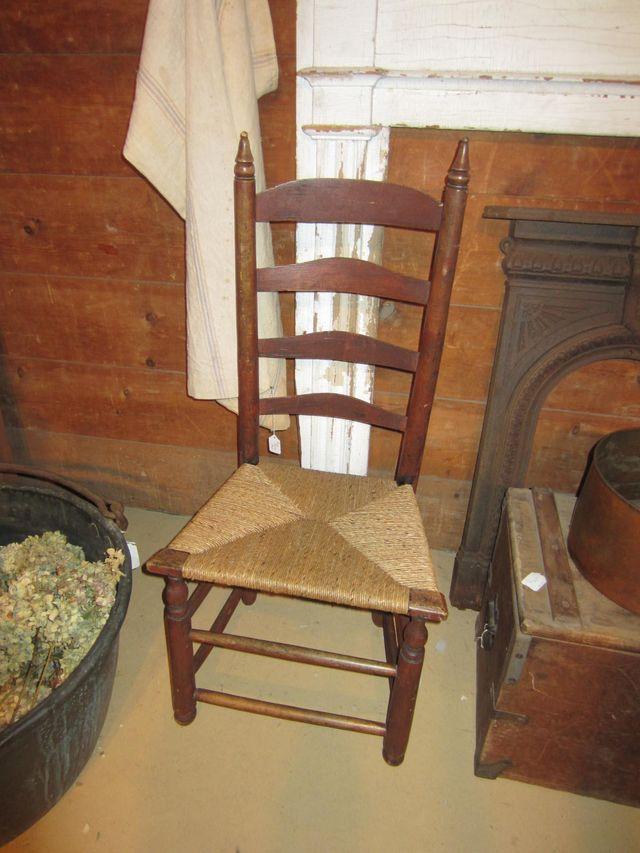 18th-19th Century Ladderback Side Chair