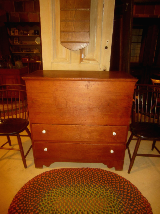 19th Century 2 Drawer Mule Chest