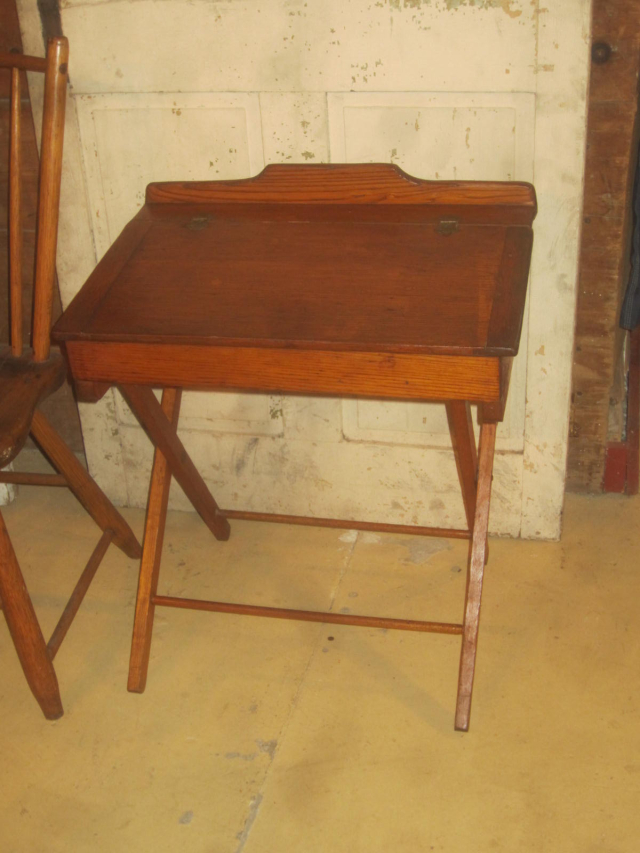 Early Folding Child's Lift Top Desk