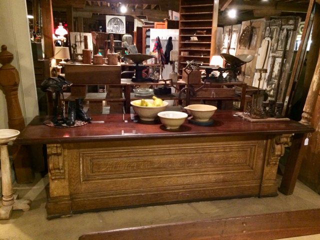 Early Store Counter From Leap Building Penns Grove, NJ