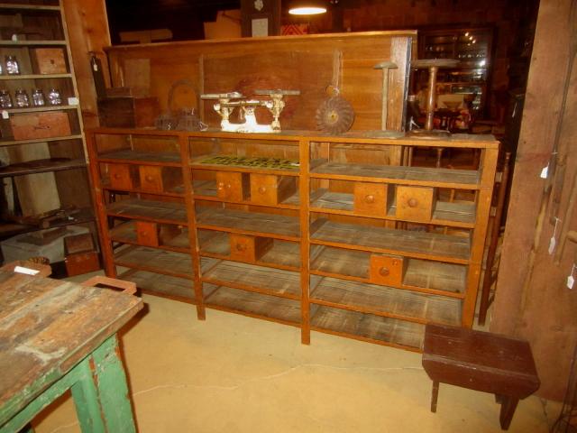 Hardware Store Shelf