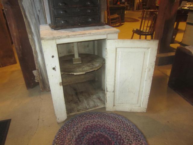 Interior shot of cupboard
