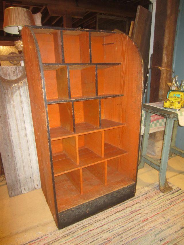 Old Hardware Display Shelf