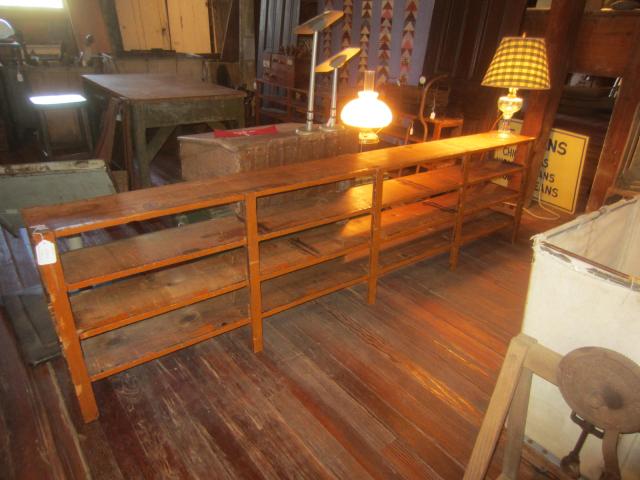 Old Hardware Shelf