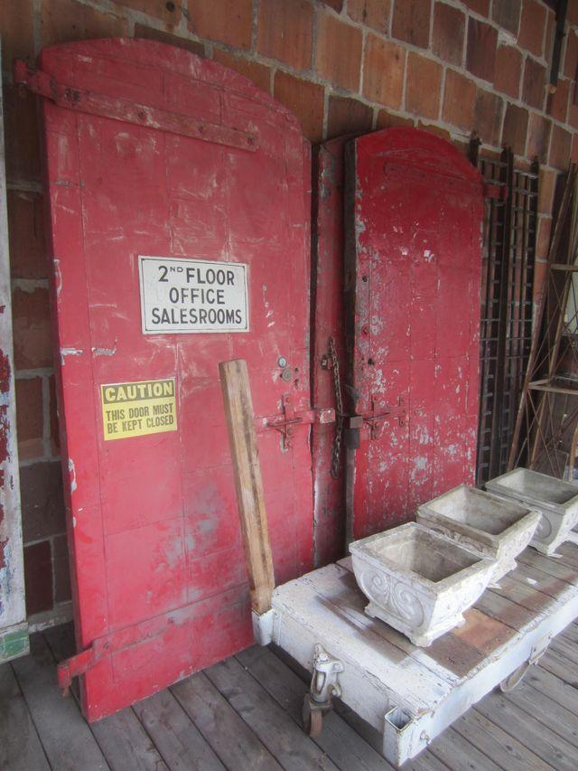 4 Old Fire Doors