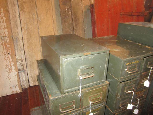 One Drawer Metal File