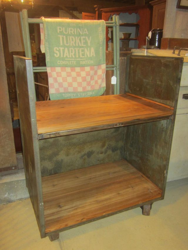 Repurposed Industrial Cart