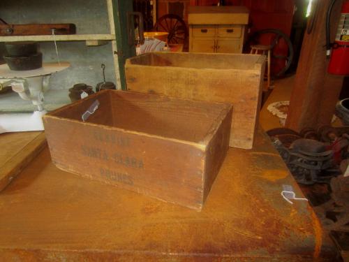 Ansco & Santa Clara Prunes Crate