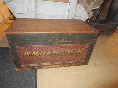 W.M. Hamilton Tool Chest