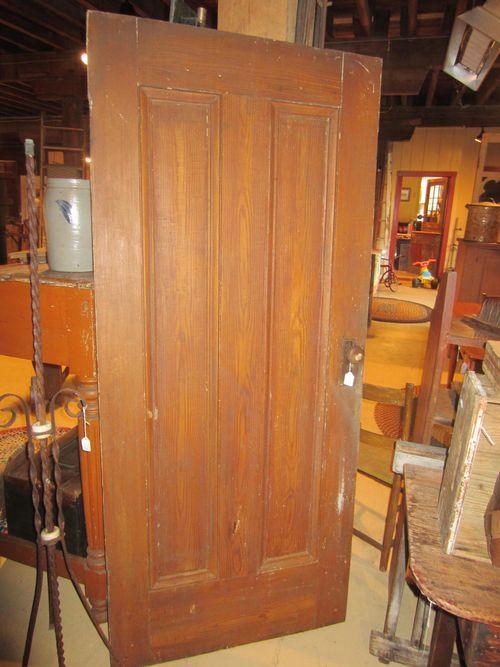 Early Grain Painted Panel Door