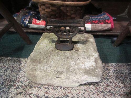 Old New Castle Delaware Boot Scraper