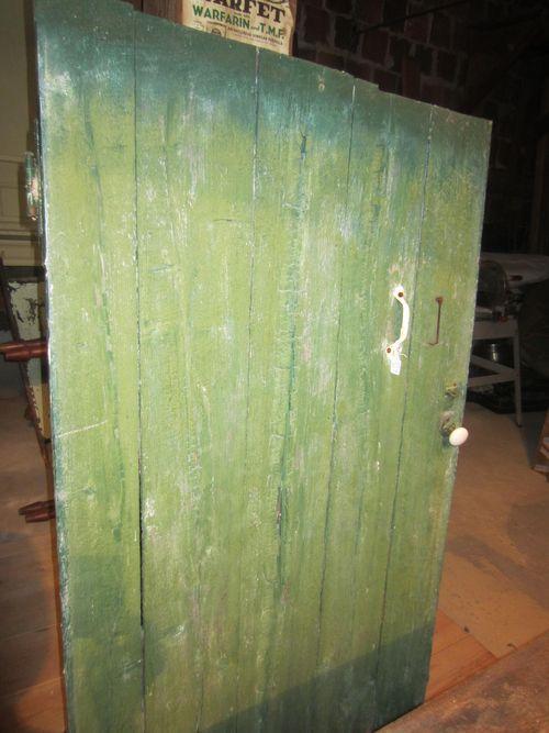 Old Painted Barn Door