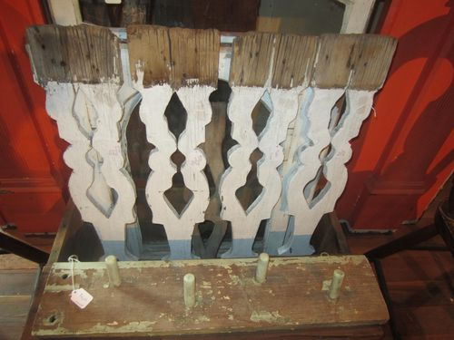 Old Flat Porch Spindles