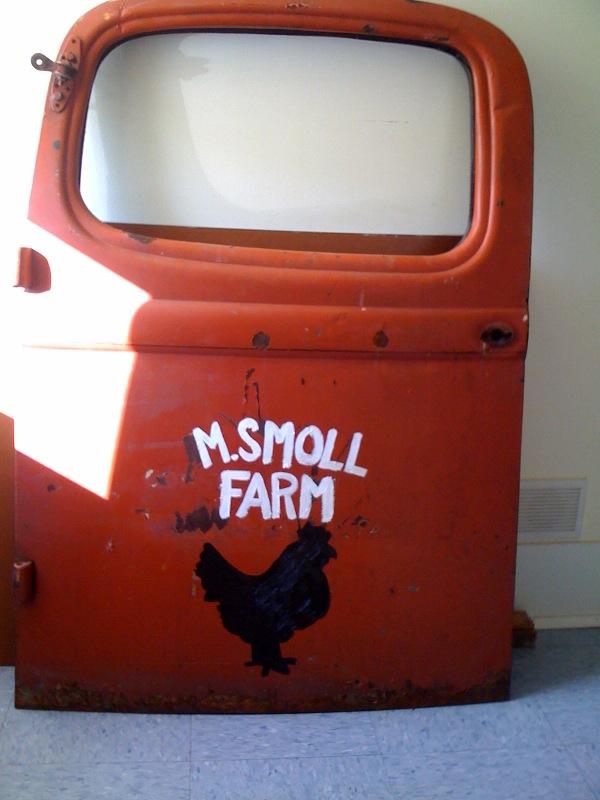 Gilda Smoll's Truck Door Surprise!