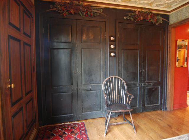Hugh Luck's Beautiful Foyer Doors!!